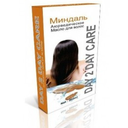 Аюрведическое масло для волос СМиндаль  DAY 2 DAY CARE, 200 мл.