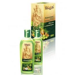 Комплекс против выпадения волос (масло и шампунь) Aasha, 300 мл
