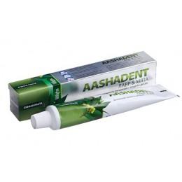 """Зубная паста """"Лавр-Мята""""  Aasha, 100 мл"""