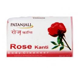 Мыло Роза (Rose Kanti Patanjali), 75 гр