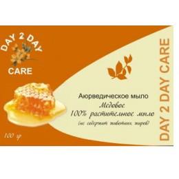 Мыло Натуральное Медовое DAY 2 DAY CARE, 100 гр