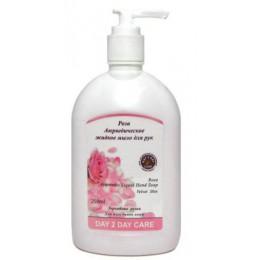 """Жидкое аюрведическое мыло для рук  """"Роза"""" DAY 2 DAY CARE,  250мл"""