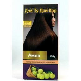 Аюрведическое средство для волос и лица-порошок Амлы 100%, DAY 2 DAY CARE, 100 гр