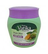 Маска ДЛЯ ТУСКЛЫХ, СУХИХ И ПОВРЕЖДЕННЫХ волос с оливковым маслом, 500 гр (Dabur vatika virgin oil)