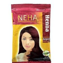 Хна натуральная цвет Бургундия, 20 гр ( NEHA Henna Burgundy)