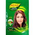 Натуральная  хна  для волос Neha Herbal Mehande 100%, вес 55 гр.