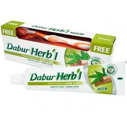 Зубная паста  Дабур Хербл Ним (DABUR HERB`L NEEM) с зубной щеткой, 150 гр.