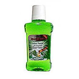 Ополаскиватель полости рта дабур Мисвак Освежающая мята (Dabur Miswak Mint Fresh), 250 мл.
