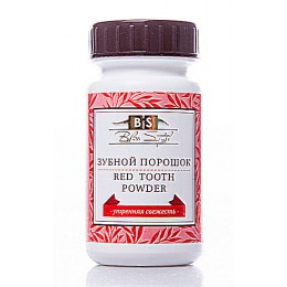 Зубной порошок Красный «Утренняя свежесть» (Red Tooth Powder), 50 гр