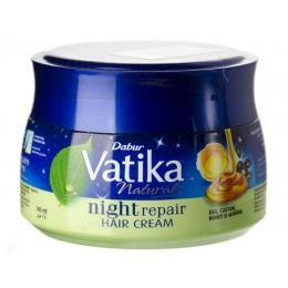 Крем для волос НОЧНОЕ ВОССТАНОВЛЕНИЕ, Dabur Vatika, 140 гр.