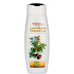 Шампунь для сухих волос Патанджали (Patanjali Kesh Kanti Reetha Hair Cleanser), 200 мл.